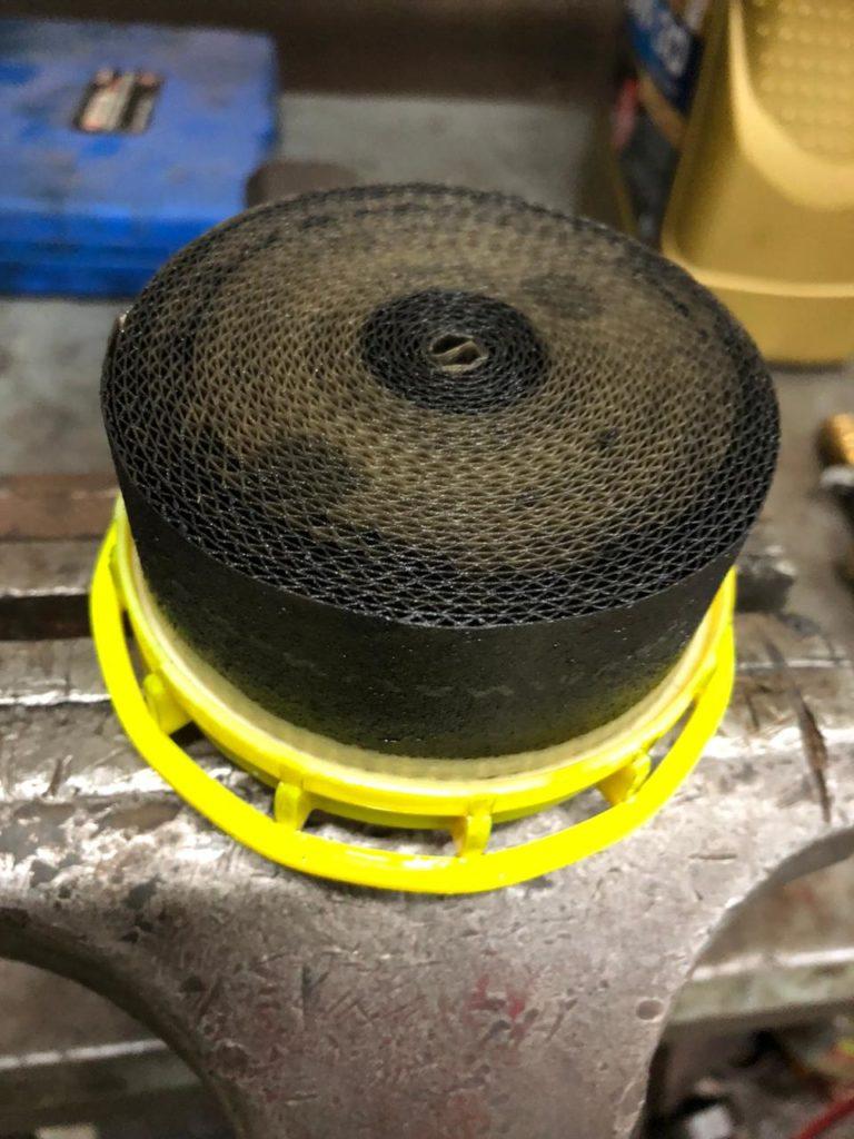 Замена топливного фильтра ТЛК200