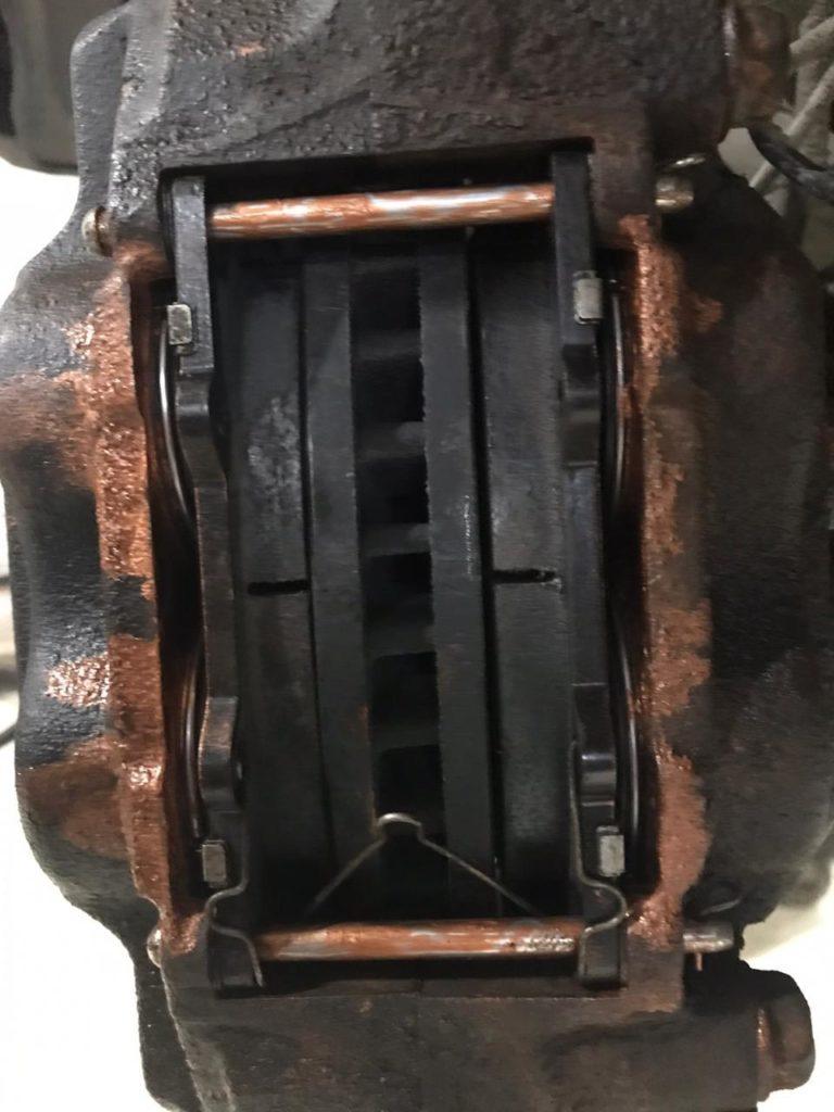 Замена тормозных колодок тойота ЛК120